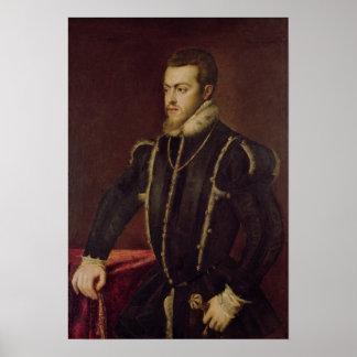 Retrato de Philip II de España 2 Posters