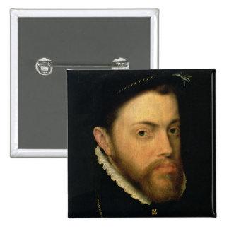 Retrato de Philip II de España Pin