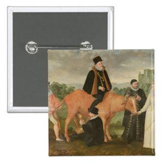 Retrato de Philip II, el duque de Alenzón Pins