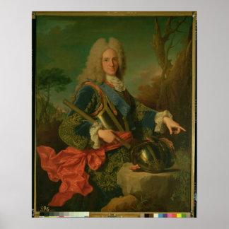 Retrato de Philip V Poster