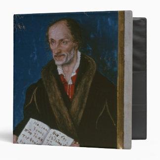 """Retrato de Philipp Melanchthon Carpeta 1 1/2"""""""