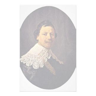 Retrato de Philips Lukasz de Rembrandt Papeleria