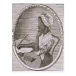 Retrato de Phillis Wheatley Postales