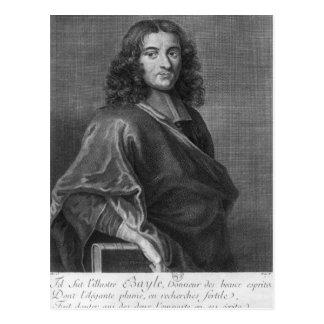 Retrato de Pierre Bayle Tarjetas Postales
