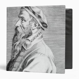 """Retrato de Pieter Brueghel la anciano Carpeta 1 1/2"""""""