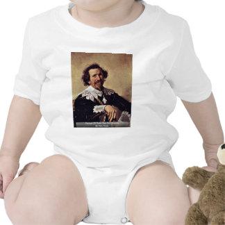 Retrato de Pieter Van Den Broecke de Hals Traje De Bebé