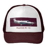 Retrato de Pilatus PC-12, PC 12 de PILATUS Gorras