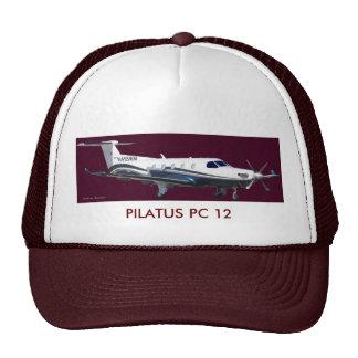 Retrato de Pilatus PC-12, PC 12 de PILATUS Gorros