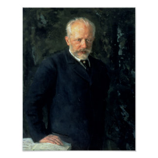 Retrato de Piotr Ilyich Tchaikovsky Impresiones