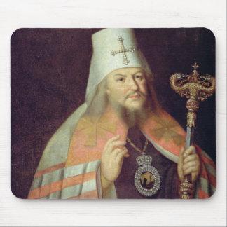 Retrato de Platón II, metropolitano de Moscú Tapete De Ratones