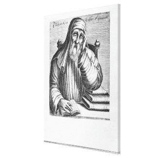 Retrato de Plutarch Impresión En Lienzo Estirada