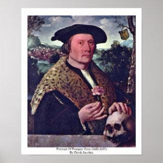 Retrato de Pompey Occo (1483-1537). Poster