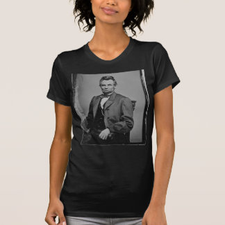 Retrato de presidente Abraham Lincoln de Mathew Br Camisetas