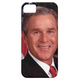 Retrato de presidente George W Bush Official Funda Para iPhone SE/5/5s