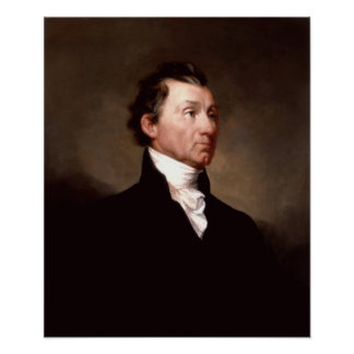 Retrato de presidente James Monroe Posters