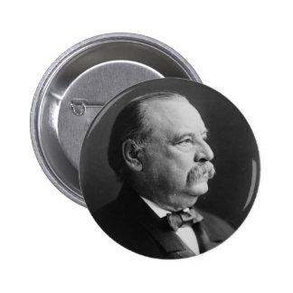 Retrato de presidente Stephen Grover Cleveland Pin