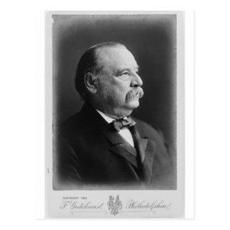 Retrato de presidente Stephen Grover Cleveland Postal