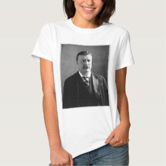 Retrato de presidente Theodore Roosevelt de los Playera