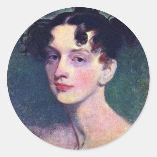 Retrato de princesa Lieven By sir Thomas Etiqueta Redonda