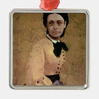 Retrato de princesa Paulina de Metternich Adorno Navideño Cuadrado De Metal