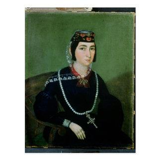 Retrato de princesa Salome Chavchavadze Postal