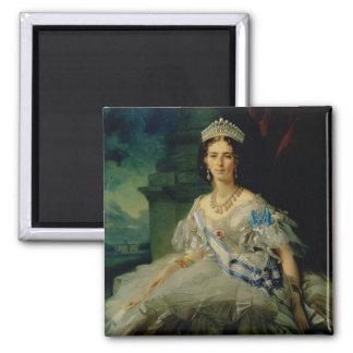 Retrato de princesa Tatiana Alexanrovna Imán De Nevera
