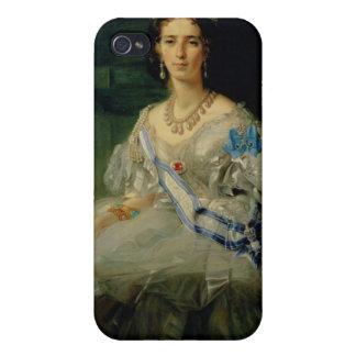 Retrato de princesa Tatiana Alexanrovna iPhone 4 Carcasas