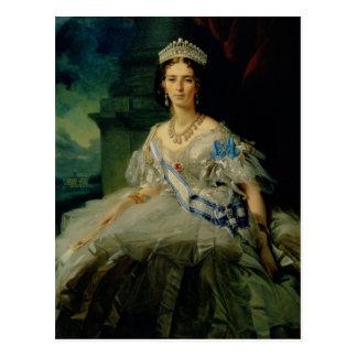 Retrato de princesa Tatiana Alexanrovna Postal