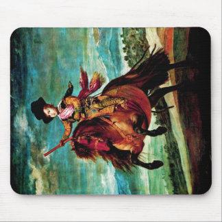 Retrato de príncipe Balthasar Carlos a caballo Tapetes De Raton