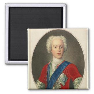 Retrato de príncipe Charles Edward Imán Cuadrado