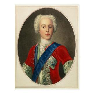 Retrato de príncipe Charles Edward Tarjetas Postales