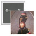Retrato de príncipe Eugene de Beauharnais Pin Cuadrada 5 Cm