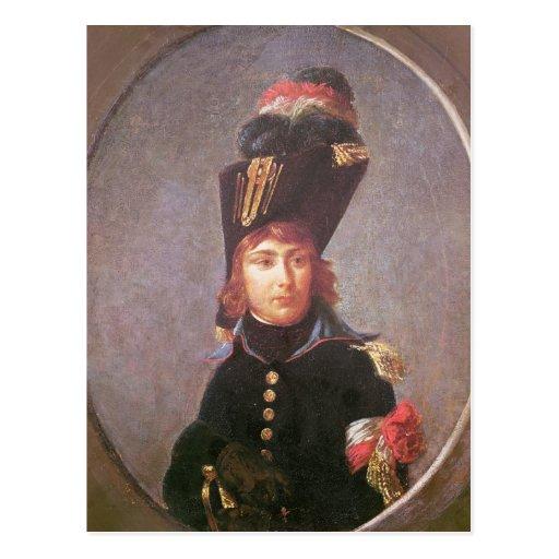 Retrato de príncipe Eugene de Beauharnais Postal