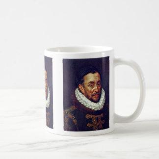 Retrato de príncipe Guillermo Of Orange Taza De Café