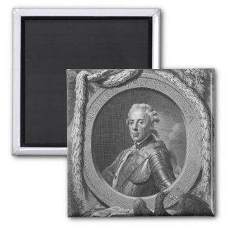 Retrato de príncipe Henry de Prusia, 1779 Imán Cuadrado