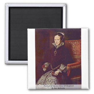 Retrato de Queen Mary de Inglaterra por MOR Anthon Imanes