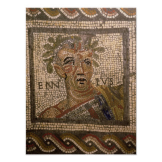 Retrato de Quintus Ennius Poster