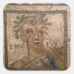 Retrato de Quintus Ennius Pegatina Cuadrada