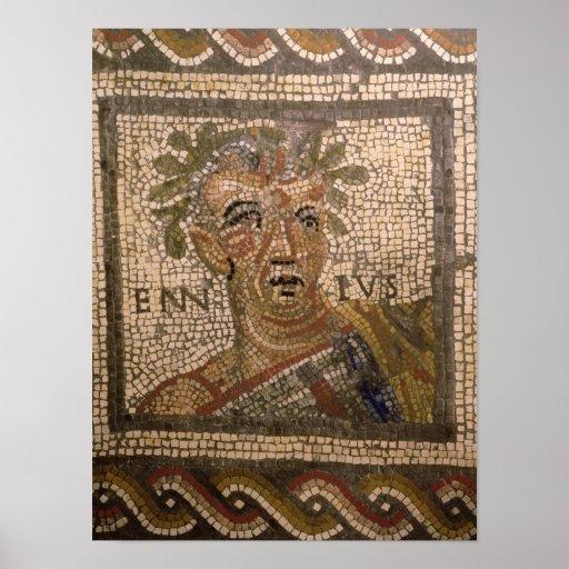 Retrato de Quintus Ennius Póster