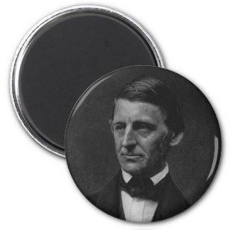Retrato de Ralph Waldo Emerson en 1901 Imán Para Frigorífico