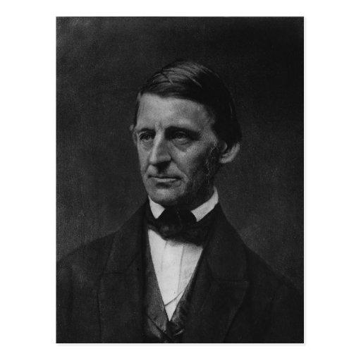 Retrato de Ralph Waldo Emerson en 1901 Postales
