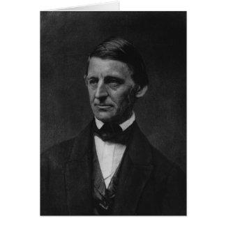 Retrato de Ralph Waldo Emerson en 1901 Felicitaciones