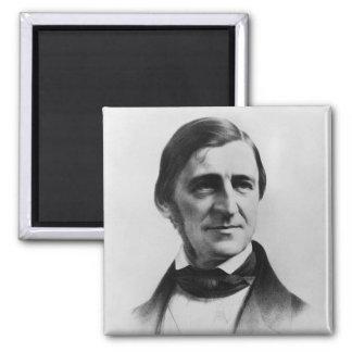 Retrato de Ralph Waldo Emerson Imán Para Frigorífico