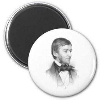 Retrato de Ralph Waldo Emerson Iman De Frigorífico