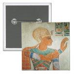 Retrato de Ramesses III de Pin Cuadrada 5 Cm