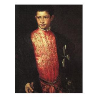 Retrato de Ranuccio Farnese Postal