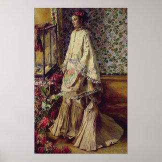 Retrato de Rapha, 1871 Póster