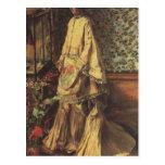 Retrato de Rapha de Pedro Renoir Tarjetas Postales