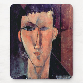 Retrato de Raymond de Amedeo Modigliani Tapete De Ratón