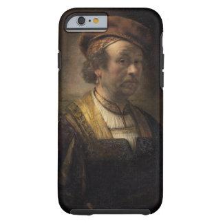Retrato de Rembrandt, 1650 (aceite en lona) Funda Resistente iPhone 6